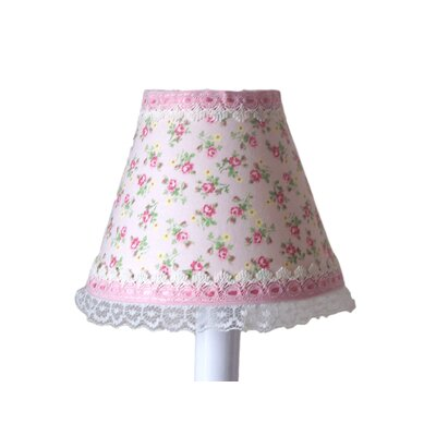 Shabby Rose 11 Fabric Empire Lamp Shade
