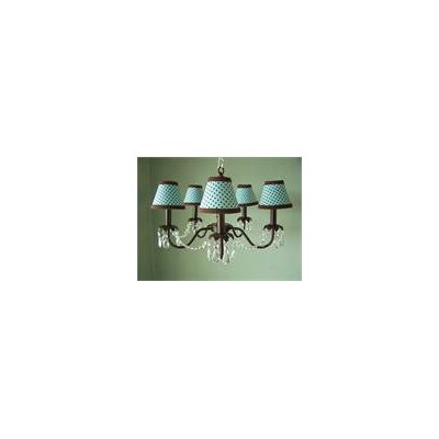 Camillah 5-Light Shaded Chandelier Shade: Jack Be Nimble