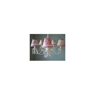 Camillah 5-Light Shaded Chandelier Shade: Twinkle Toes