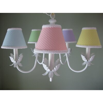 Ooh Baby Baby 5-Light Shaded Chandelier
