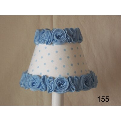 Little Miss Muffet 11 Fabric Empire Lamp Shade Shade Color: Blue