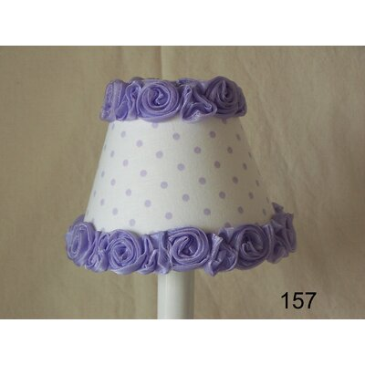 Little Miss Muffet 11 Fabric Empire Lamp Shade Shade Color: Lavender