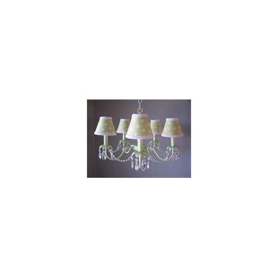 Camillah 5-Light Shaded Chandelier Shade: Lady Bug Madness
