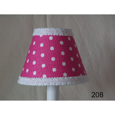 Delightful Dots 11 Fabric Empire Lamp Shade Shade Color: Green