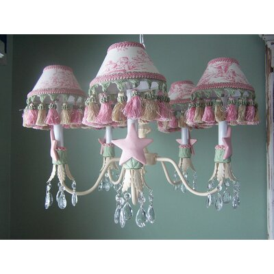 Isabella 5-Light Shaded Chandelier