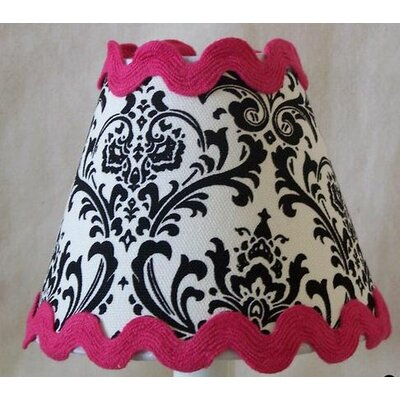 Classy Damask 11 Fabric Empire Lamp Shade