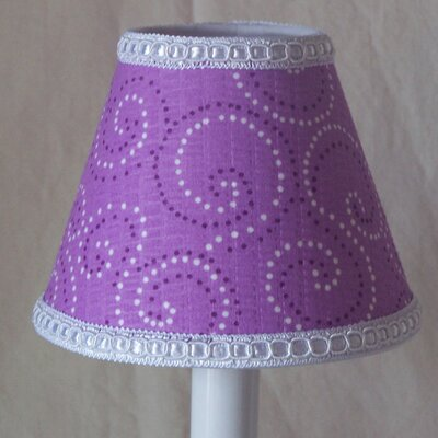 Butterfly Dust 5 Fabric Empire Candelabra Shade