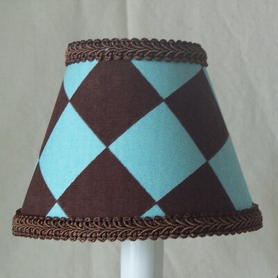 Chocolate Checks 11 Fabric Empire Lamp Shade