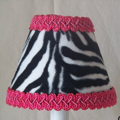 Zebra 5 Fabric Empire Candelabra Shade