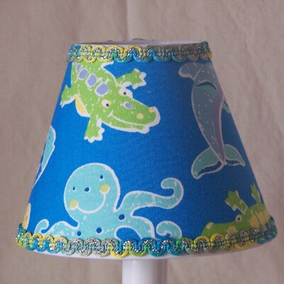 Under the Sea 5 Fabric Empire Candelabra Shade