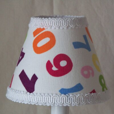 One, Two Buckle My Shoe 11 Fabric Empire Lamp Shade
