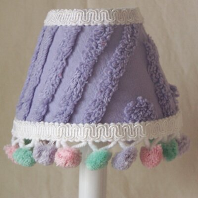 Chenille Magic 5 Fabric Empire Candelabra Shade