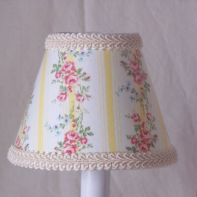 Summertime Chic 5 Fabric Empire Candelabra Shade