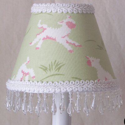Marys Little Lamb 5 Fabric Empire Candelabra Shade