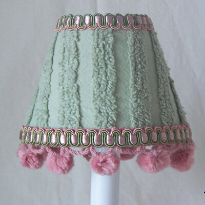 Chenille Magic Sage 5 Fabric Empire Candelabra Shade