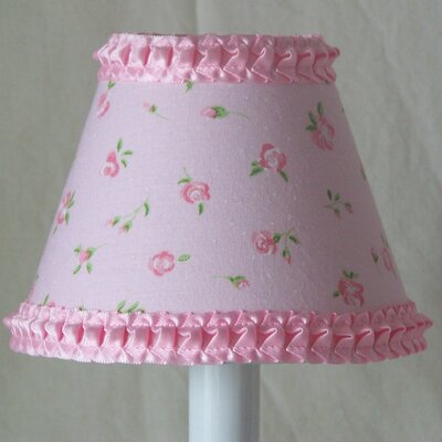 Rose Petal 5 Fabric Empire Candelabra Shade
