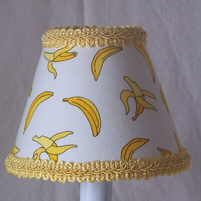 Goin Bananas 5 Fabric Empire Candelabra Shade