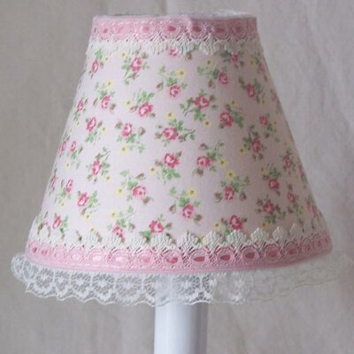 Shabby Rose 5 Fabric Empire Candelabra Shade