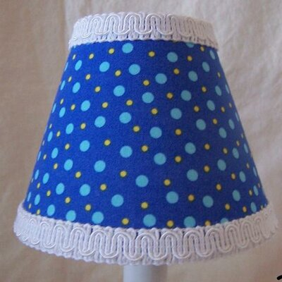 Beluga Bubbles 5 Fabric Empire Candelabra Shade