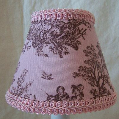 Jamestown Toile 11 Fabric Empiree Lamp Shade
