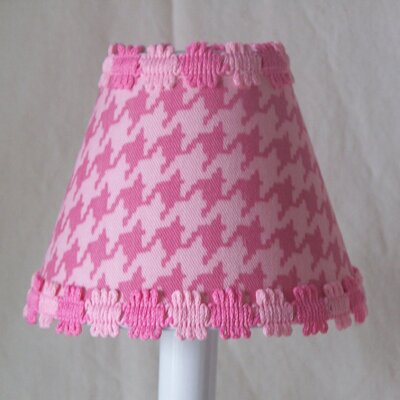 Candy Coated Houndstooth 5 Fabric Empire Candelabra Shade
