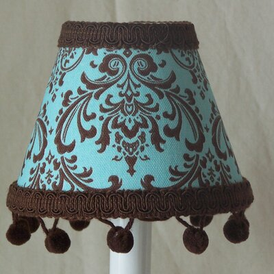 Damask 5 Fabric Empire Candelabra Shade