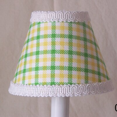 Tractor Plaid 11 Fabric Empire Lamp Shade