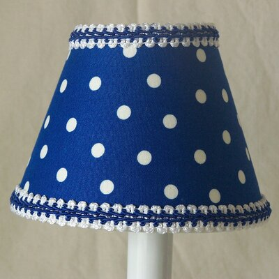 Policeman Dot 5 Fabric Empire Candelabra Shade