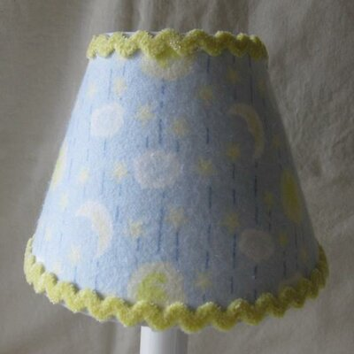 Celestial Moons 5 Fabric Empire Candelabra Shade