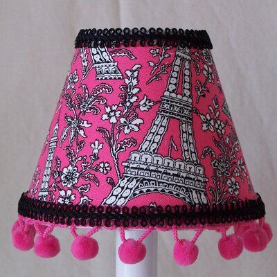 Eiffel Envy 5 Fabric Empire Candelabra Shade