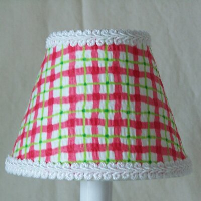 Cherry Plaid 11 Fabric Empire Lamp Shade