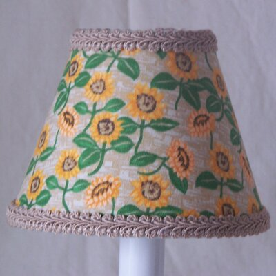 Sunflower Fields 5 Fabric Empire Candelabra Shade