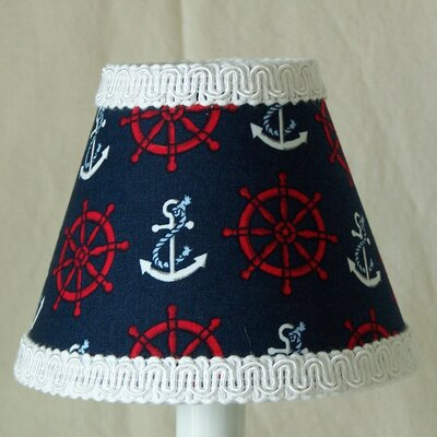 Anchor and Helm 11 Fabric Empire Lamp Shade