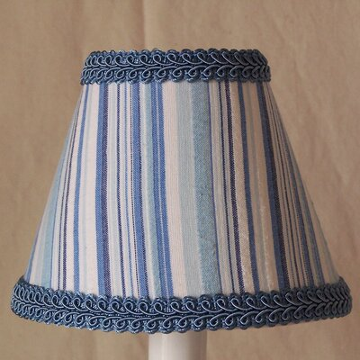 Boat Rocking 5 Fabric Empire Candelabra Shade