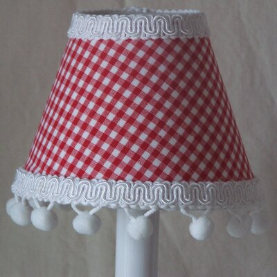 Farm House Gingham 5 Fabric Empire Candelabra Shade