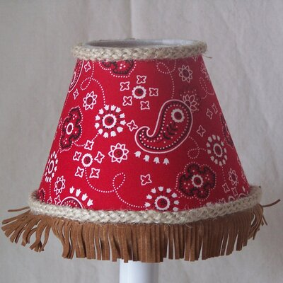 Barrel Racer 5 Fabric Empire Candelabra Shade