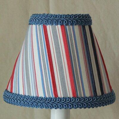 Sailboat Stripe 5 Fabric Empire Candelabra Shade