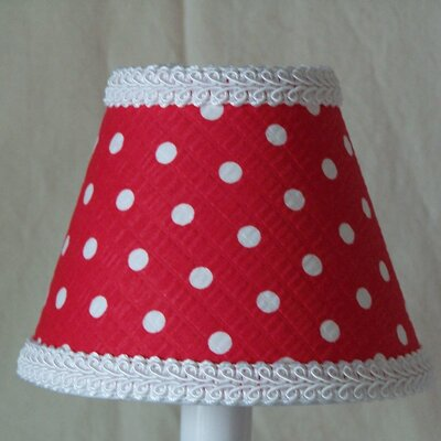 Cherry 5 Fabric Empire Candelabra Shade