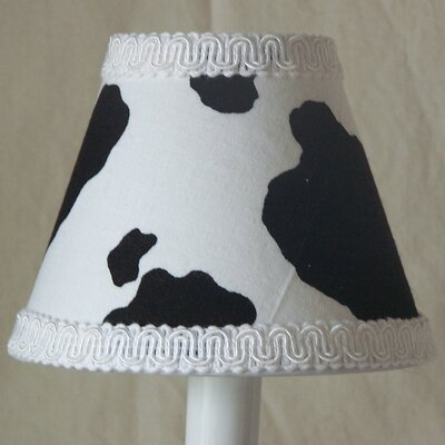 Cowhide 5 Fabric Empire Candelabra Shade