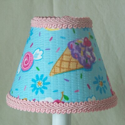 Summer Vacations 11 Fabric Empire Lamp Shade