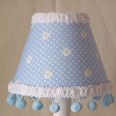 Dipping Daisies 5 Fabric Empire Candelabra Shade