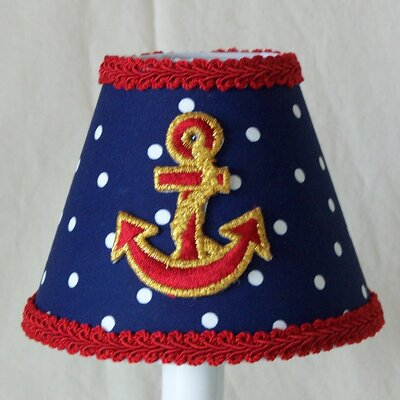 Stay Anchored 5 Fabric Empire Candelabra Shade