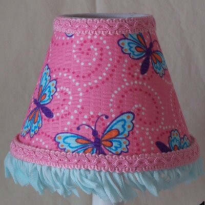 Butterfly Magic 11 Fabric Empire Lamp Shade