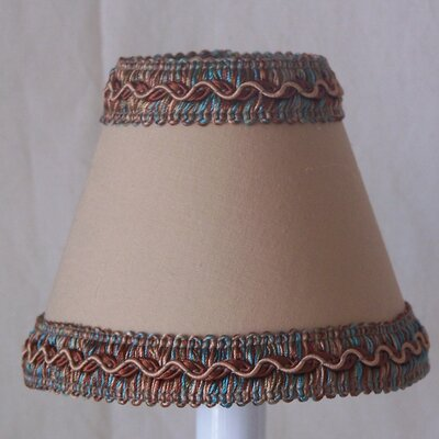 Cocoa Powder 11 Fabric Empire Lamp Shade