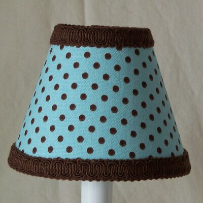 Chocolate Sprinkles 11 Fabric Empire Lamp Shade