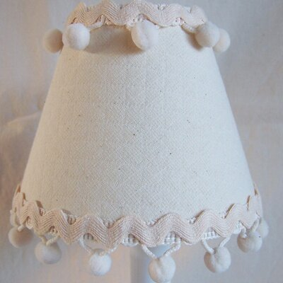Sandcastle 5 Fabric Empire Candelabra Shade