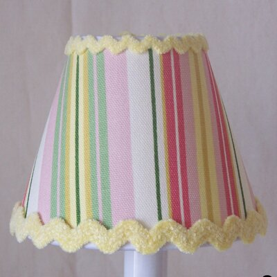 Glorious Stripes 5 Fabric Empire Candelabra Shade