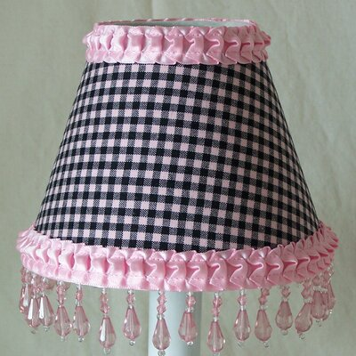 Gingham 5 Fabric Empire Candelabra Shade