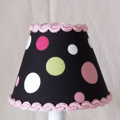 Sweet Pea Polka Dot 5 Fabric Empire Candelabra Shade
