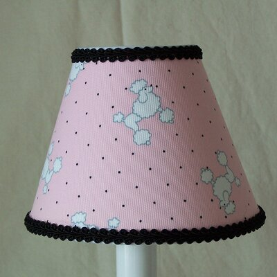 Fancy Poodle 5 Fabric Empire Candelabra Shade